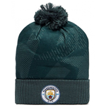 2017-2018 Man City Nike Bobble Hat (Outdoor Green)