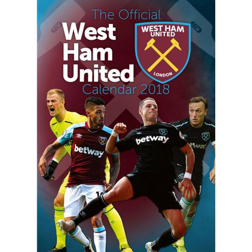 West Ham United F.C. Calendar 2018