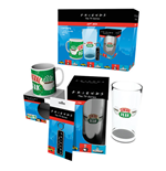 Friends Mug+Glass+Keychain Set - Central Perk