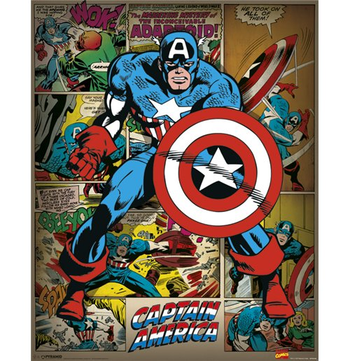 Captain America Poster 279380