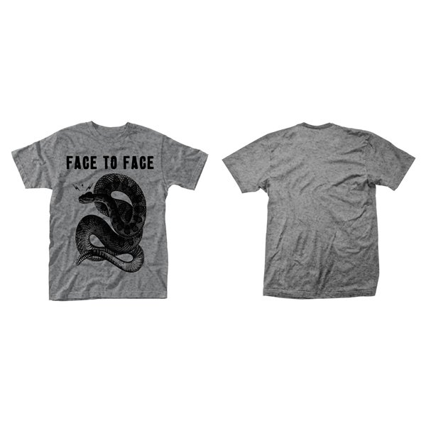 Face To Face T-shirt Snake