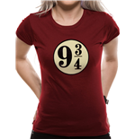 Harry Potter - Platform 9 3/4s - Women Fitted T-shirt Red
