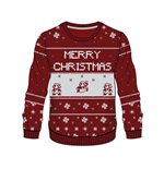 Nintendo Sweater Red Mario X-mas