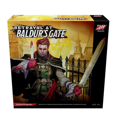 Avalon Hill Board Game Betrayal at Baldur's Gate english