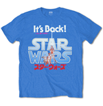 Star Wars Men's Tee: It's Back! Japanese