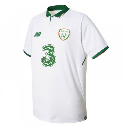 2017-2018 Ireland Away New Balance Football Shirt (Kids)