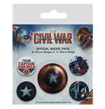 Captain America Pin 279782
