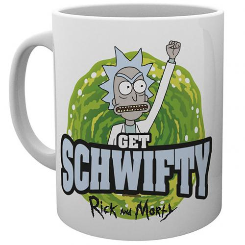 Rick And Morty Mug Schwifty