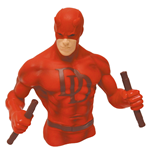 Marvel Comics Bust Bank Daredevil Red Version Previews Exclusive