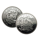 Street Fighter Collectable Coin 30th Anniversary (silver plated)