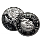 Sonic the Hedgehog Collectable Coin (silver plated)