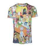 Rick & Morty T-Shirt Wasted