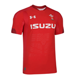 2018-2019 Wales Rugby Home Gameday Shirt (Red)