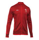 2018-2019 Wales Rugby WRU Track Jacket (Red)