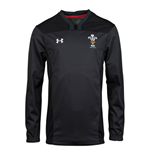 2018-2019 Wales Rugby WRU Contact Training Jacket (Anthracite)