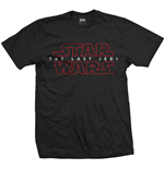 Star Wars Men's Tee: Episode VIII The Last Jedi Logo