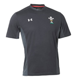 2018-2019 Wales Rugby WRU Training Tee (Black)