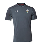 2018-2019 Wales Rugby WRU Training Jersey (Anthracite)