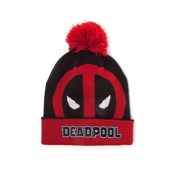 Deadpool - Roll Up Beanie With Pompom