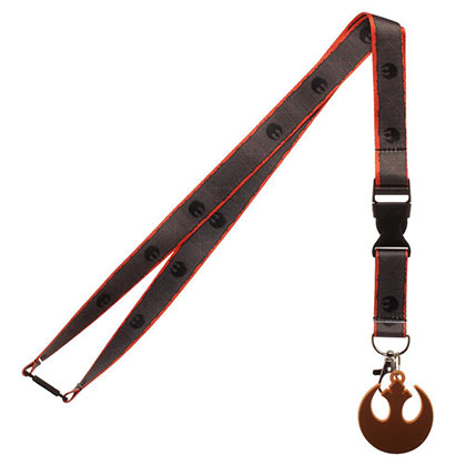 STAR WARS Episode 8 Rebel Lanyard