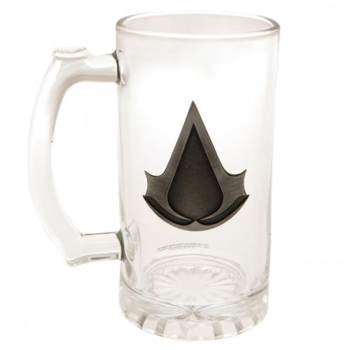 Assassins Creed Glass Tankard