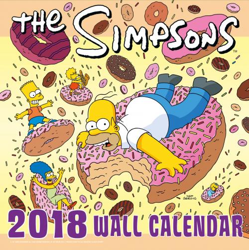 The Simpsons Calendar 2018