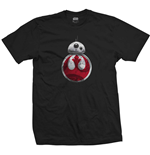 Star Wars Men's Tee: Episode VIII BB-8 Resistance