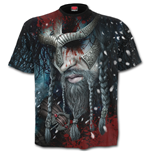 Viking Wrap - Allover T-Shirt Black