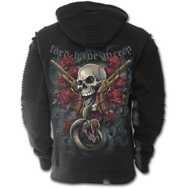 Lord Have Mercy - Premuim Biker Fashion Mens Hoodie