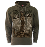 Oak Princess - Hoody Olive