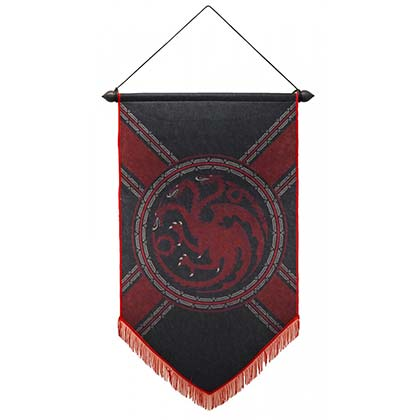 GAME OF THRONES Targaryen Banner Flag