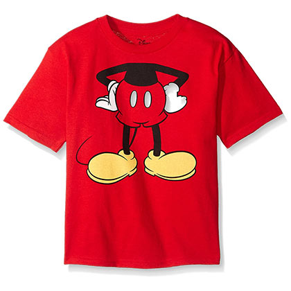 Mickey Mouse Toddlers Red Costume Tshirt