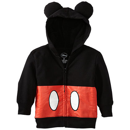 Mickey Mouse Toddlers Costume Hoodie Sweatshirt