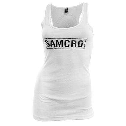SONS OF ANARCHY Women's SAMCRO Tank Top