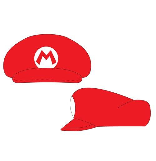 Buy Nintendo Super Mario Bros Shaped Cap With Mario Logo