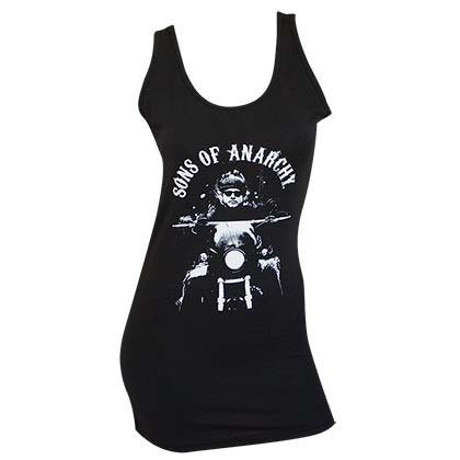 SONS OF ANARCHY Fear the Reaper Women's Black Tank Top