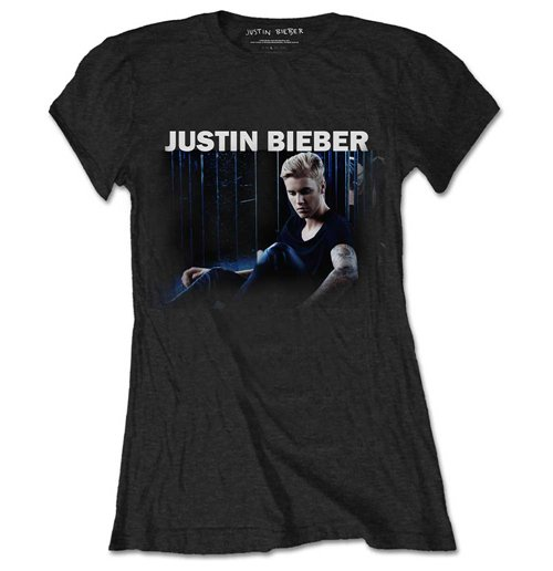 Justin bieber ladies tee mirror for only £ at