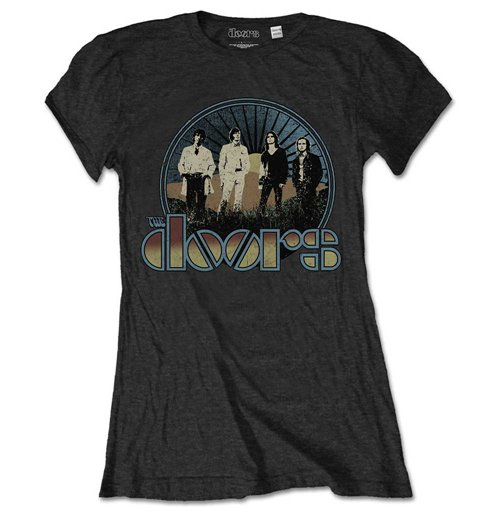 The Doors Ladies Tee: Vintage Field