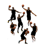 NBA Basketball Action Figures 15 cm Series 31 Assortment (8)