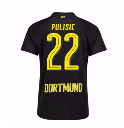 2017-18 Borussia Dortmund Away Shirt (Pulisic 22)