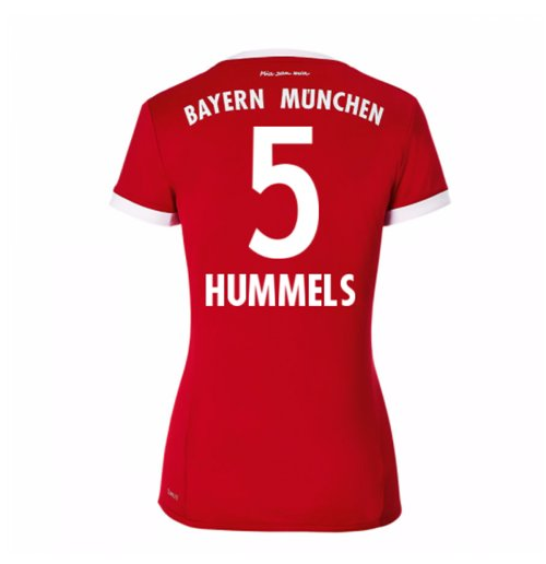 2017-18 Bayern Munich Home Womens Shirt (Hummels 5)