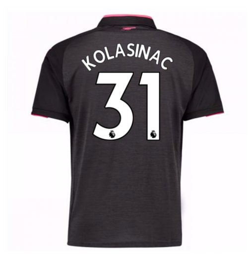 2017-18 Arsenal Third Shirt (Kolasinac 31)