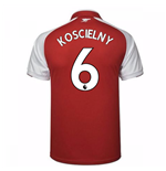 2017-18 Arsenal Home Shirt (Koscielny 6)