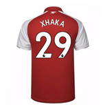 2017-18 Arsenal Home Shirt - Kids (Xhaka 29)