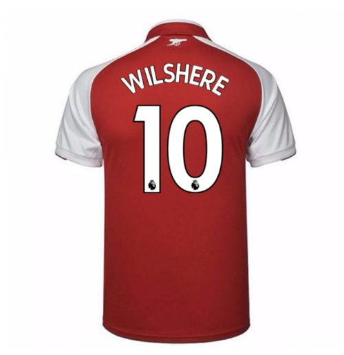2017-18 Arsenal Home Shirt - Kids (Wilshere 10)