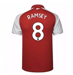 2017-18 Arsenal Home Shirt - Kids (Ramsey 8)