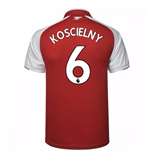 2017-18 Arsenal Home Shirt - Kids (Koscielny 6)