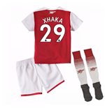 2017-18 Arsenal Home Mini Kit (Xhaka 29)