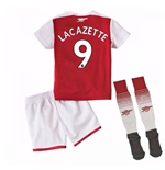 2017-18 Arsenal Home Mini Kit (Lacazette 9)