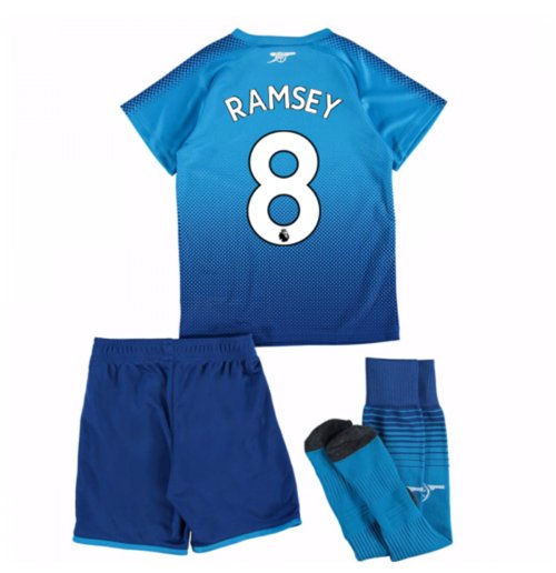 2017-18 Arsenal Away Mini Kit (Ramsey 8)